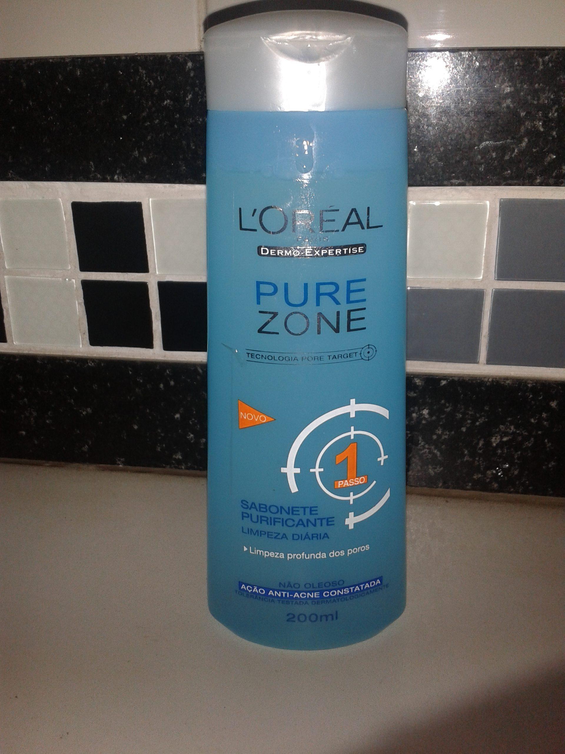 Sabonete líquido Pure Zone 1 da L´ORÉal