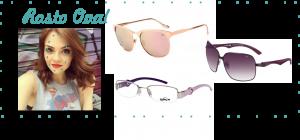 modelo de óculos