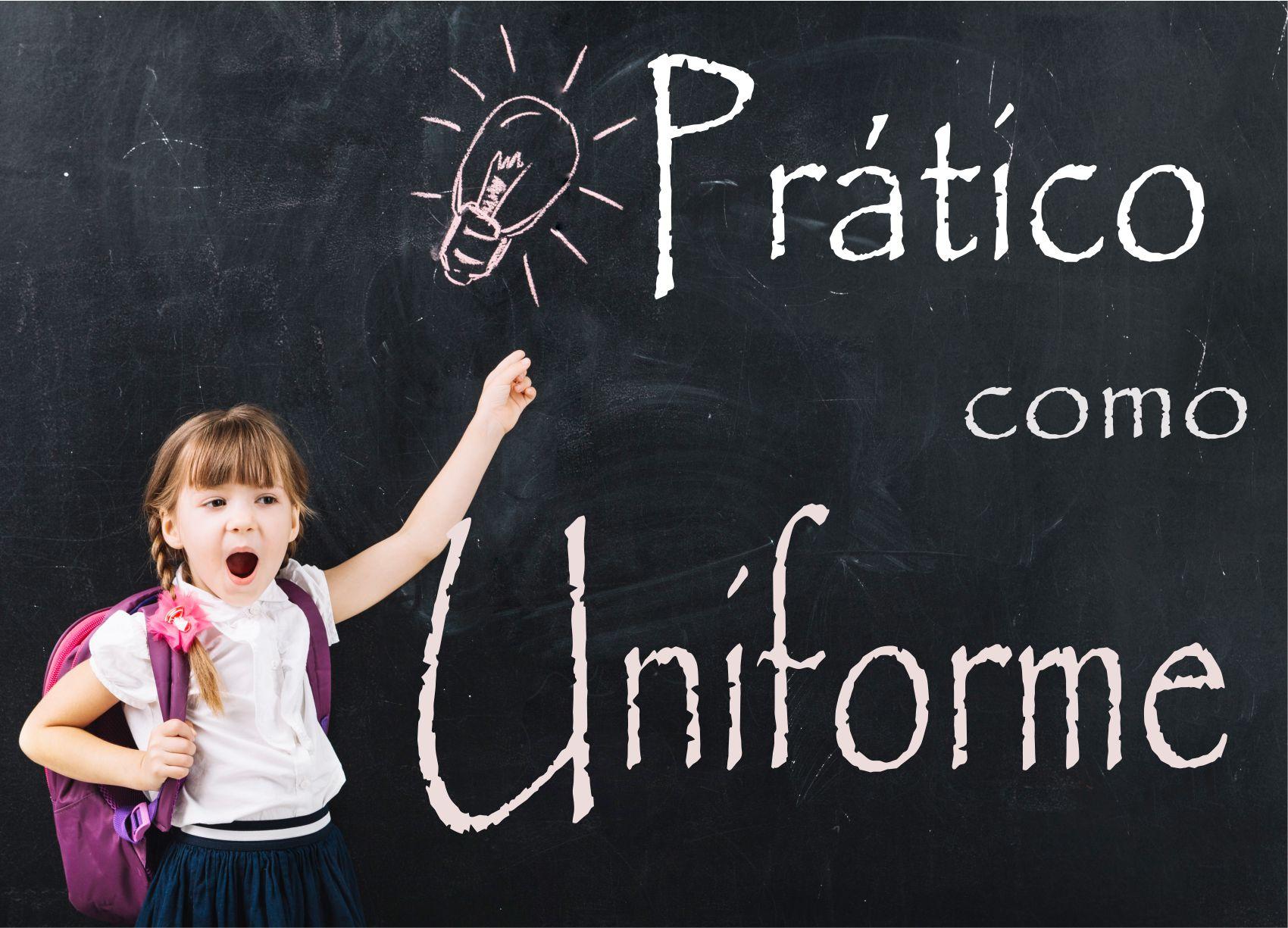 Looks Uniforme – Praticidade no seu dia a dia   Dica da Semana