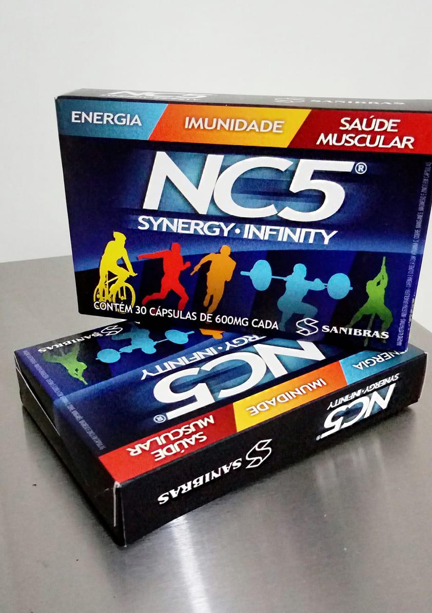 NC5 Synergy Infinity Dando um Up no seu dia